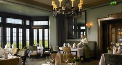 Restaurant at Doonbeg Golf & Spa Resort.