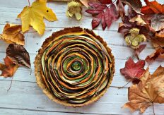 Vegetable Spiral Tart Recipe 3