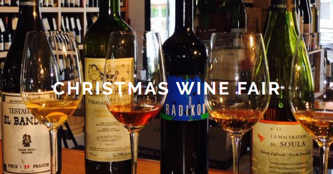 Green Man Wines Christmas Fair 2