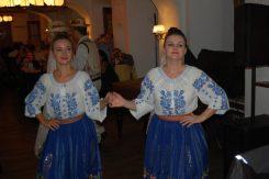 Dancers in Hanul lui Manuc restaurant