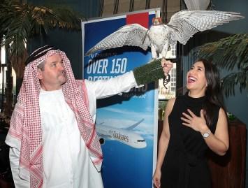 Trevor Roche and Yolanda Zaw pictured at the Emirates Dubai Brunch at the Dean Hotel,Dublin. Pic Brian McEvoy No Repro fee