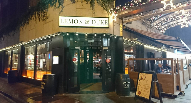 Lemon & Duke Bar Review