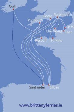 Cork Spain Map