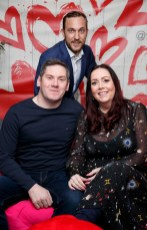 First Dates maître d' Mateo Sania is pictured with Alan Jordan adn Linda Maher at the launch of First Dates Restaurant at the gibson hotel. The First Dates Restaurant is open from Thursday – Saturday nights (inclusive subject to availability). Visit www.thegibsonhotel.ie for more information on how to book and available dates. Picture Andres Poveda