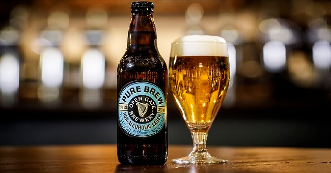 Non-Alcoholic Irish Lager Pure Brew Launched Today at the Open Gate Brewery