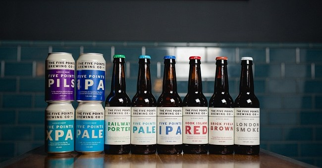 A Craft to Watch: The Five Points Brewing Company Celebrated its Irish Launch