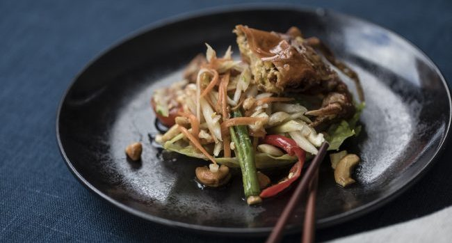 Som Tam Pu Nim Recipe From Executive Chef Tao at SABA