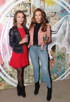 Penny Duffy and Lisa Nolan pictured at the launch of BACARDÍ Cuatro and Ocho, which were officially introduced in true prohibition style last night at an exclusive speakeasy event off Camden Street. Pic: Marc O'Sullivan