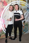 Paul Brogan and Eamonn Fennell pictured at the launch of BACARDÍ Cuatro and Ocho, which were officially introduced in true prohibition style last night at an exclusive speakeasy event off Camden Street. Pic: Marc O'Sullivan
