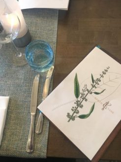 Table Setting Earth & Vine Restaurant 3