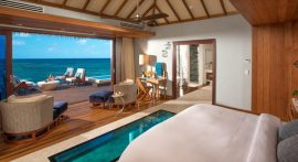 floating suites caribbeanglass-floor