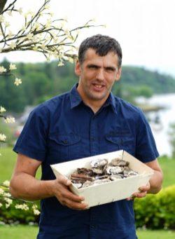 John Ward of Dooncastle Oysters