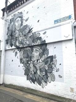 Meet me in the morning mural