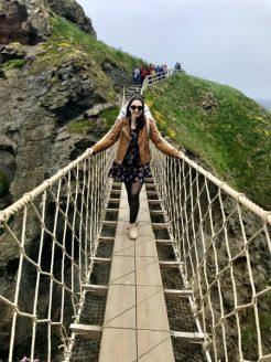 Northern Ireland Carrick A Rede Rope Bridge