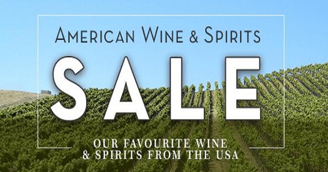American Wine Sale