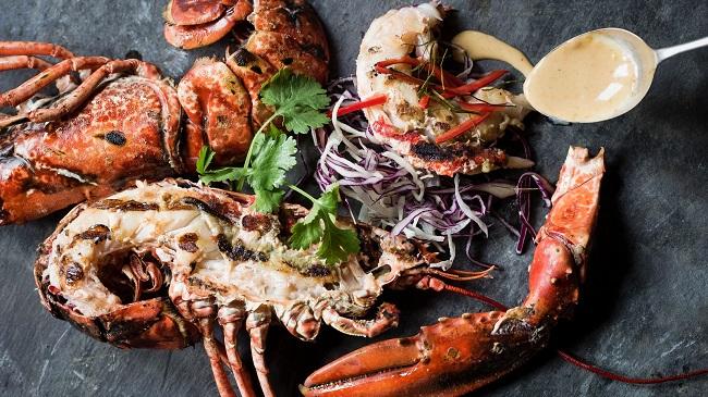 Saba Whole Lobster