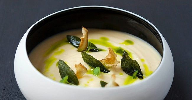 Artichoke & Potato Soup Recipe