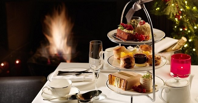 Festive Afternoon Tea Review