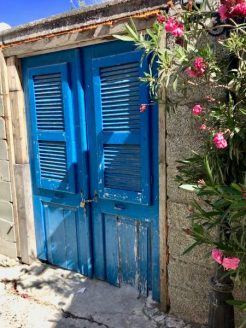 cyprus mountain village door