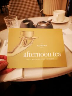 Morgan Afternoon Tea