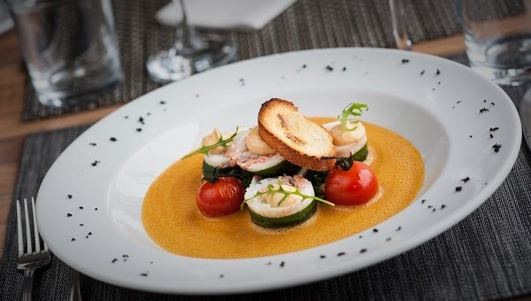 Bouillabaisse with Garlic Croutons and Rouille Recipe by Chef Paul Hynes from La Cote