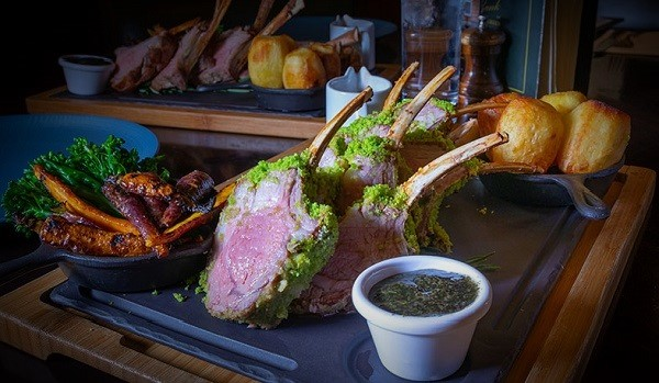 Roast Rack of Wicklow Lamb Recipe from The Bank on College Green