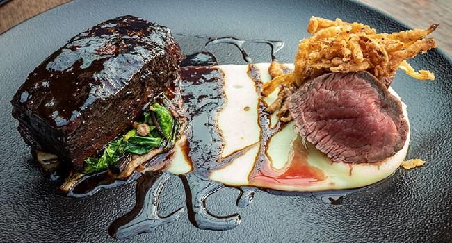 Duo of Irish Beef Recipe from Urban Brewing #DubPubDishes