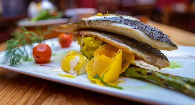 Sea Bass Rissotto Recipe from An Poitin Stil #DubPubDishes