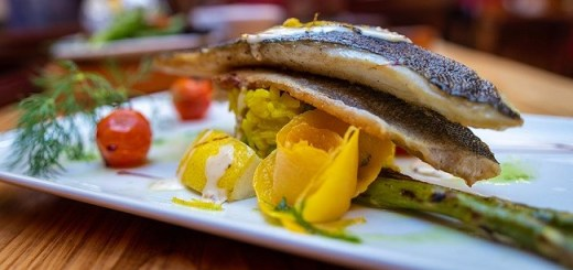 Sea Bass Rissotto Recipe from An Poitin Stil #DubPubDishes