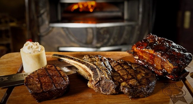 BBQ Rib Eye Steak With Marrow Butter Recipe By Fire Restaurant