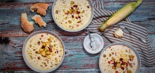 Mexican Style Cream Corn Soup Recipe By Chef Jeeny Maltese