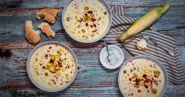 Mexican Style Cream Corn Soup Recipe By Chef Jeeny Maltese