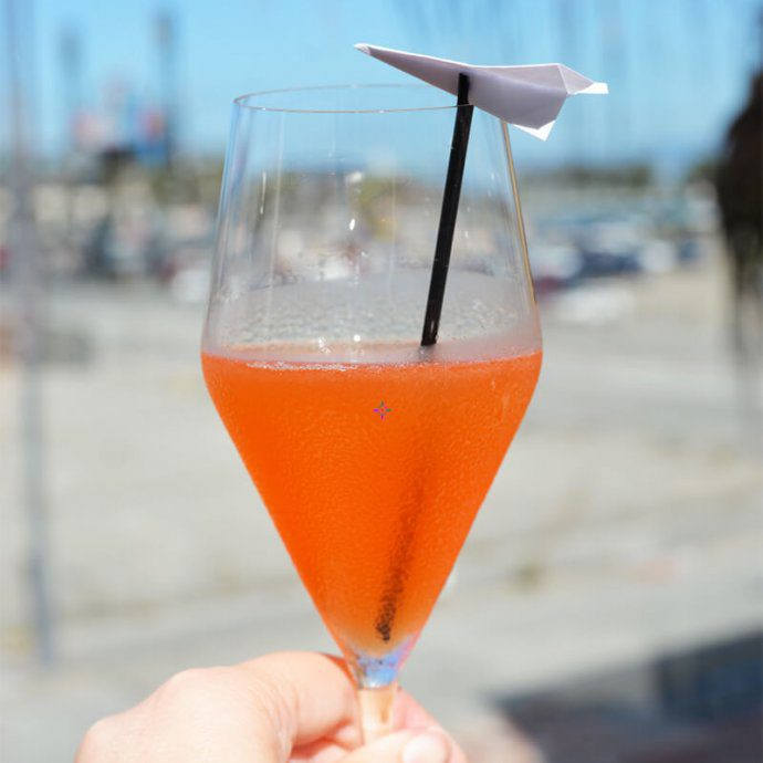 the paper plane - fleet week - Amaro cocktail