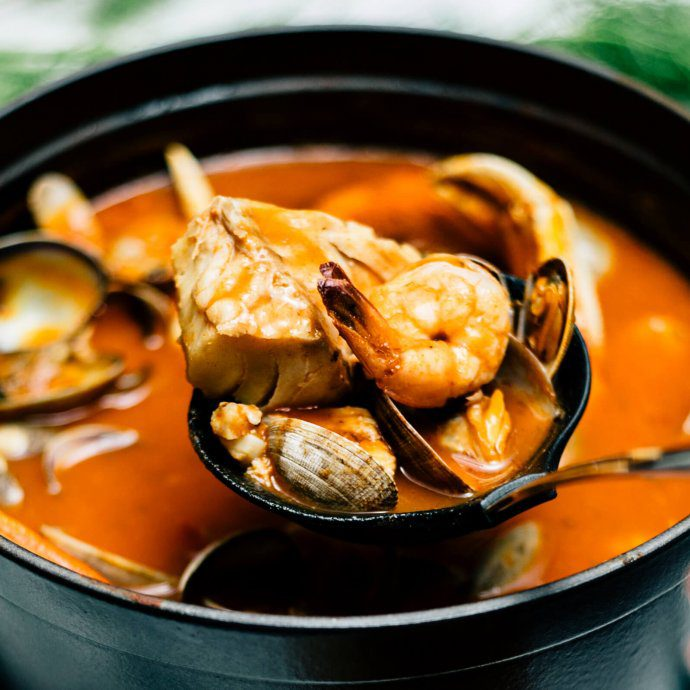 The best Cioppino recipe for winter by The taste SF with dungenous crab