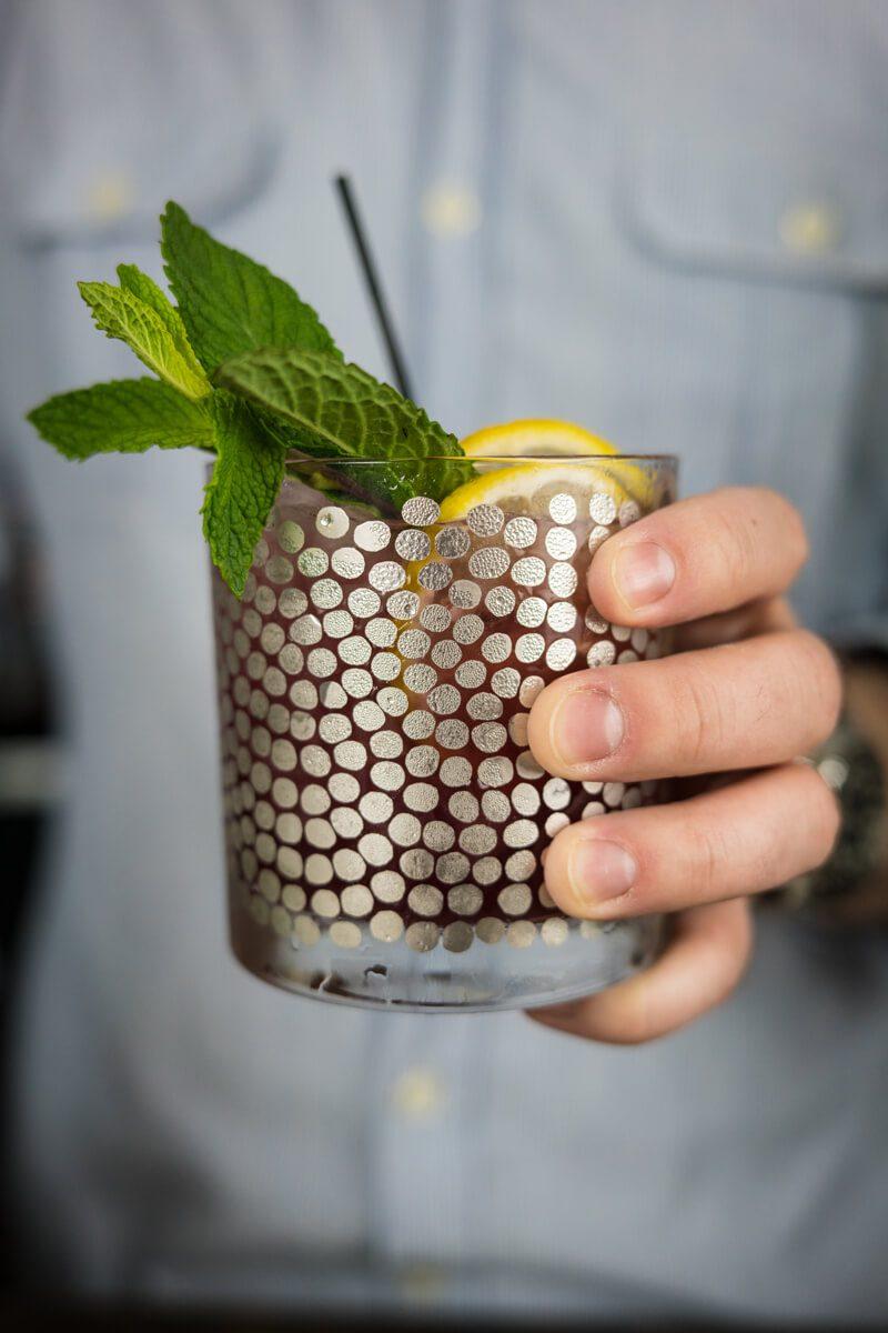 The Spring Teaser Shrub Cocktail