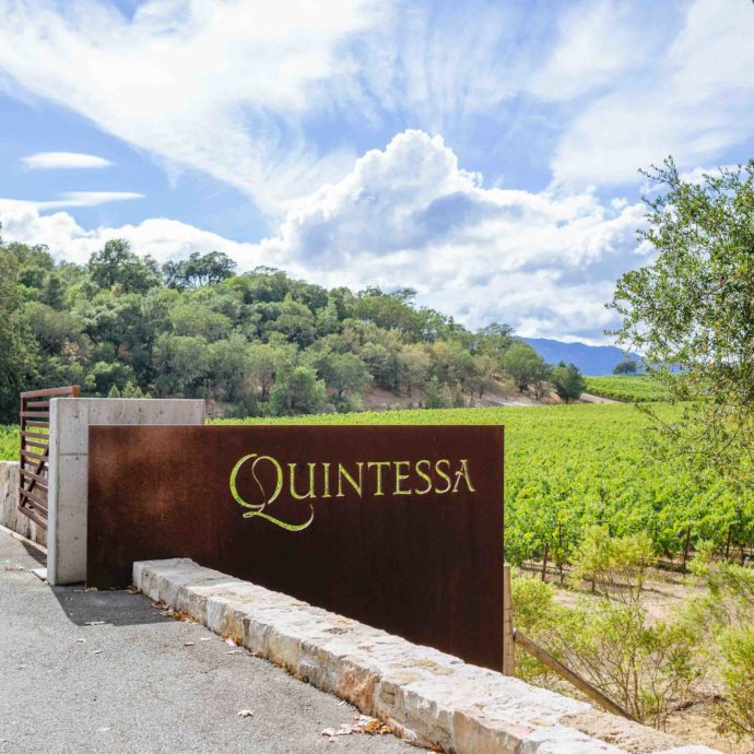 Quintessa winery in Napa Valley