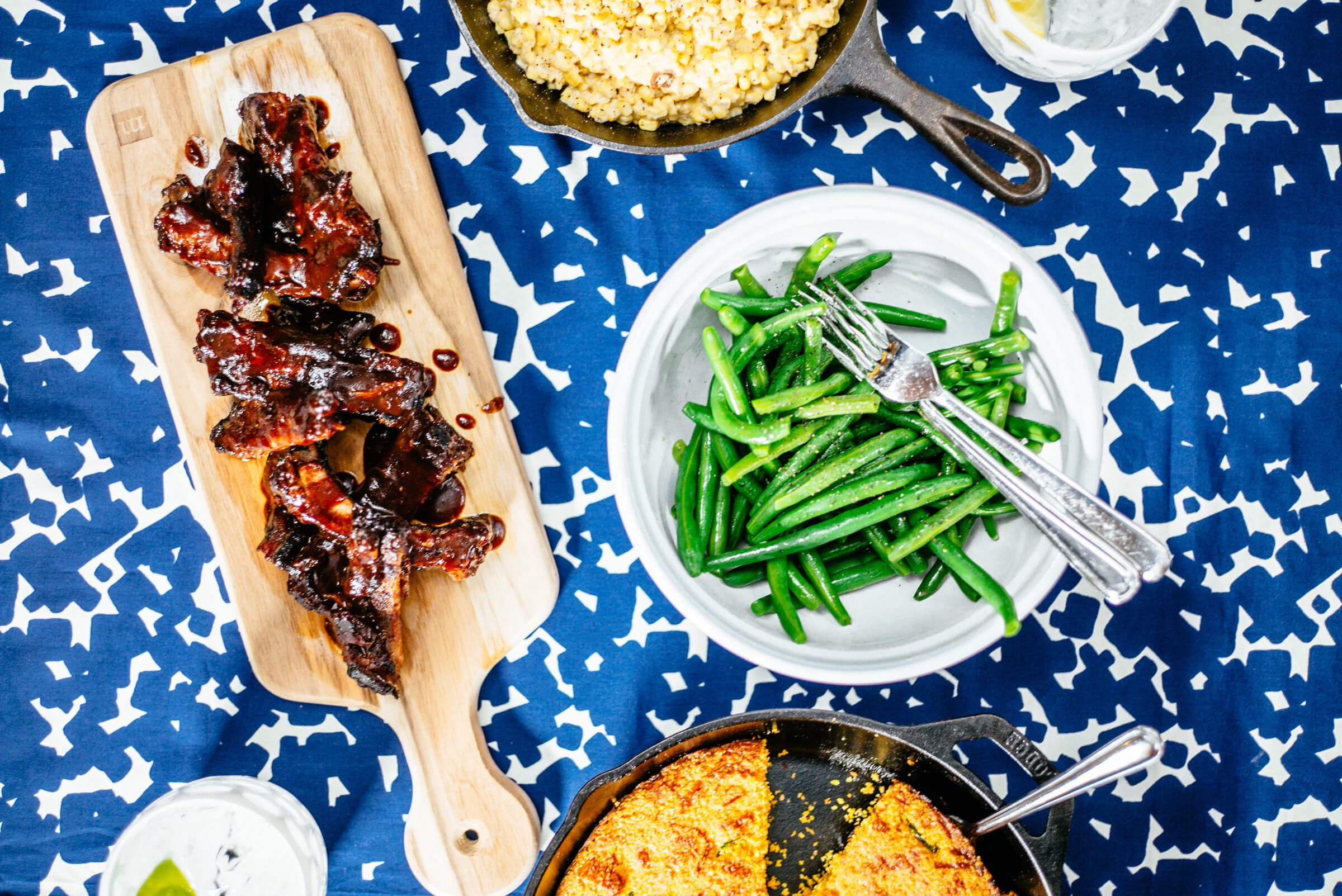 Green bean salad is great for 4th of july
