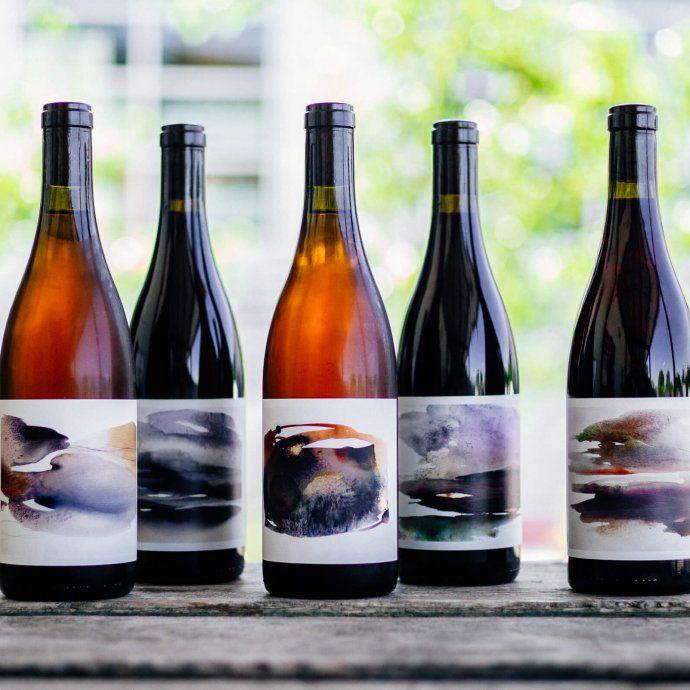 Jolie-Laude Wine bottles by The Taste SF