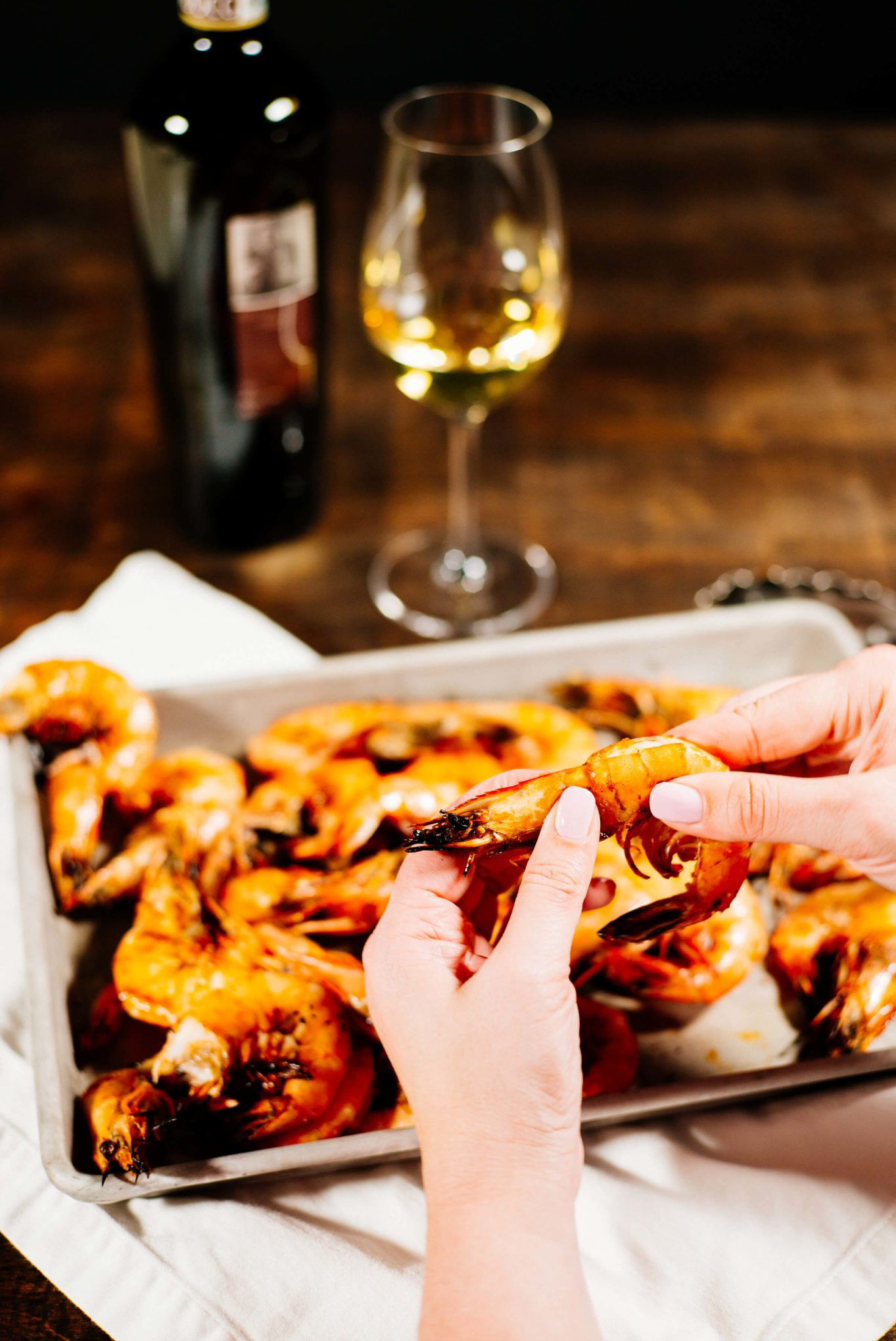 The Taste SF eats head on perfect Grilled shrimp