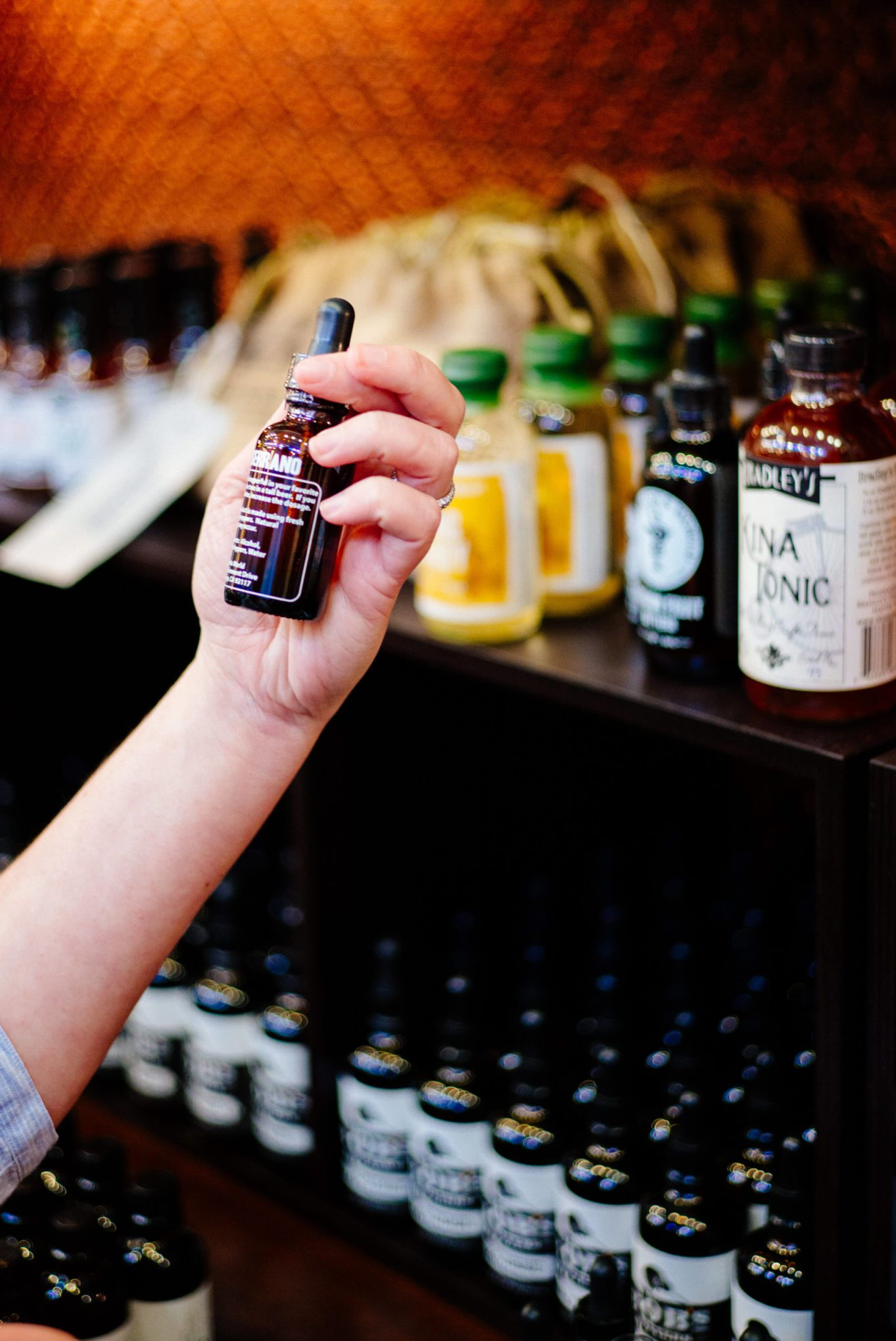 Napa Valley Distillery Bitters at The Oxbow Public Market