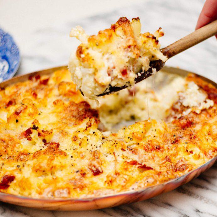 Cauliflower gratin by the taste sf