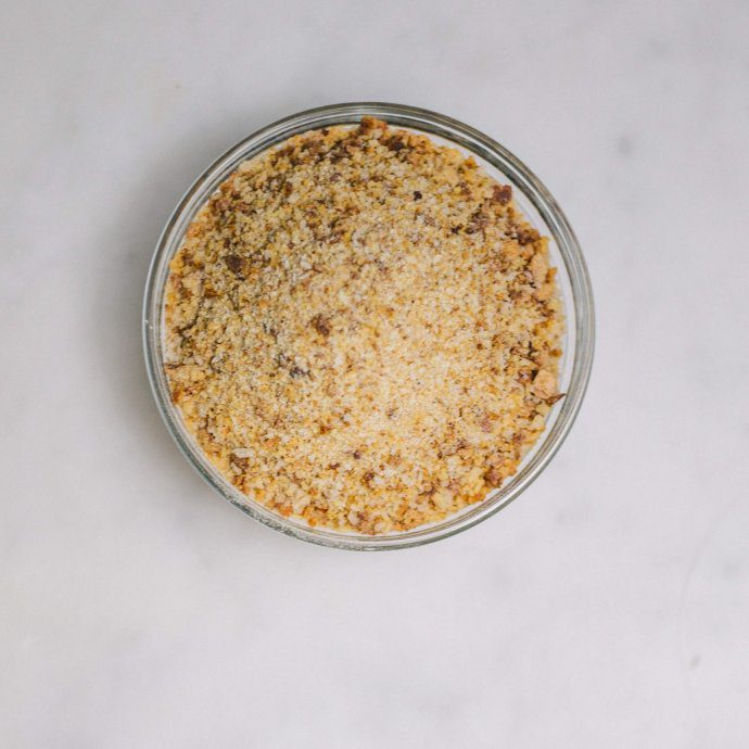 This is How to make breadcrumbs in the oven and food processor with The Taste SF