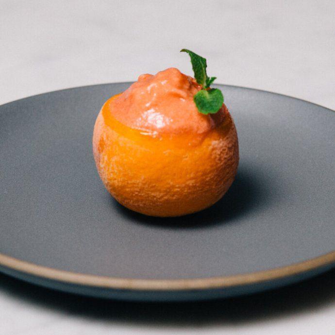 Simple recipe to make an Italian blood orange sorbet by The Taste SF