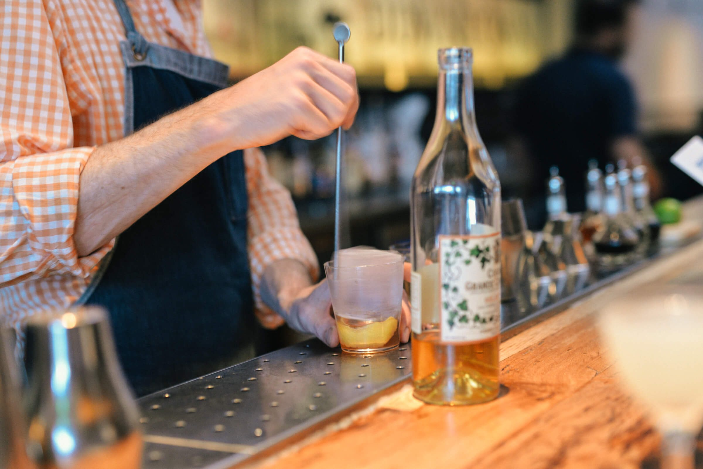 Mixing drinks at Bar Agricole in San Francisco, The Taste SF