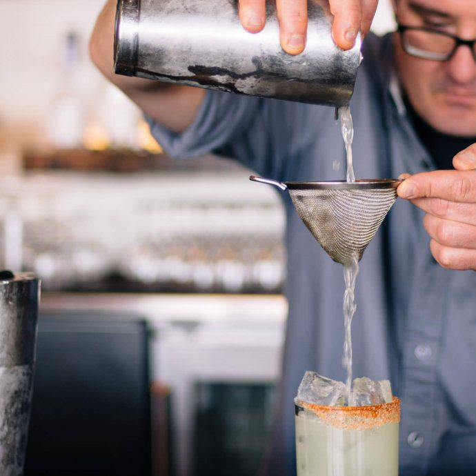 Bar Manager Saul Ranella Makes the Marshall Margarita at San Francisco's Hog Island Oyster Company, The Taste SF