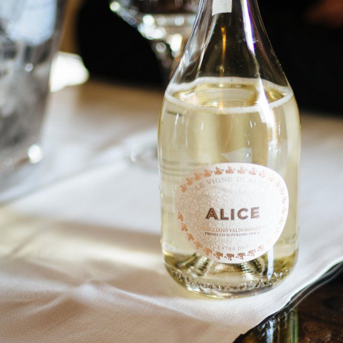 Bottle of Le Vigne Di Alice Prosecco, The Taste SF