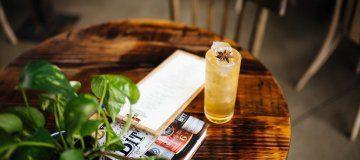 Apple Chai Gin and Tonic