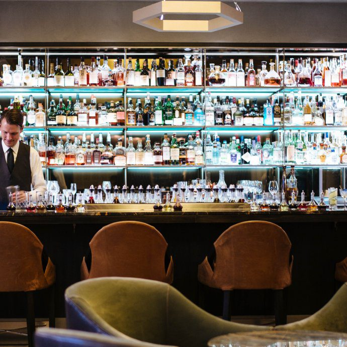 The new bar at Eleven Madison Park in New York City, see more on The Taste SF