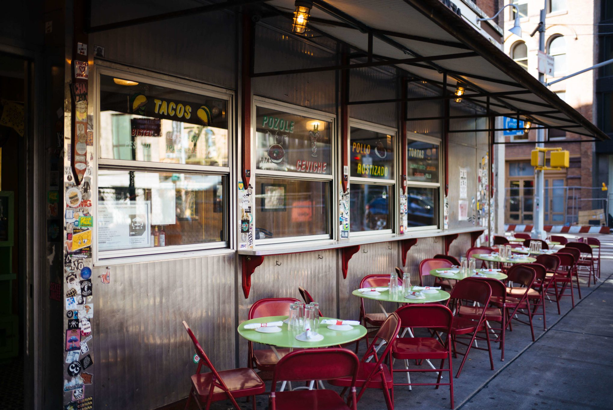 Restaurant Guide for a 24 hour travel guide New York City, The Taste SF