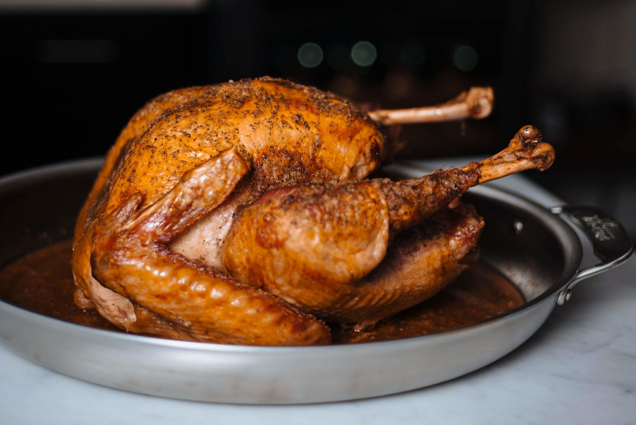 It's so easy to make a a golden Thanksgiving Turkey! Find out how on the Taste SF.